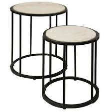 marble top nesting tables marble top nesting tables wayfair