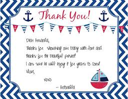 nautical thank you cards nautical thank you note instant baby boy diy print