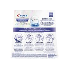 crest 3d white whitestrips with light teeth whitening kit crest 3d white whitestrips with light walmart canada
