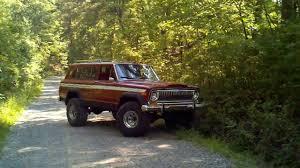 jeep cherokee chief off road 1978 jeep cherokee youtube