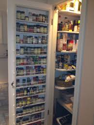 Building Wood Shelves In Pantry by Pantry Door Spice Rack I Digging For Spices So My Husband