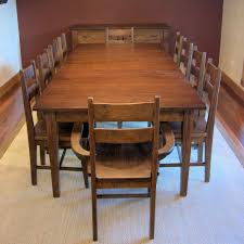 Dining Room Set For 10 Wood Dining Table Chairs Set For 10 People Traditional Dining Sets