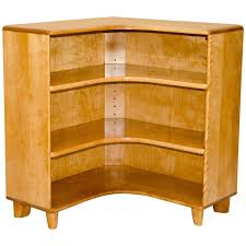 Heywood Wakefield Bamboo by Mid Century Heywood Wakefield Corner Bookcase Or Cabinet At 1stdibs