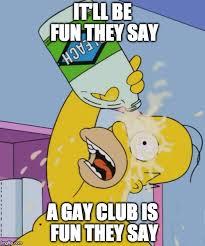 Bleach Meme - homer with bleach memes imgflip