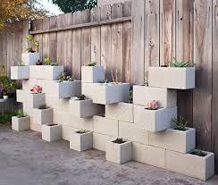 Wall Garden Planter by Cinder Block Planter Ideas For Your Garden Concrete Block Walls