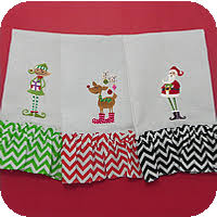 christmas towels christmas guest towels allaboutblanks