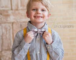 navy bow tie suspenders for boys to navy wedding bow tie