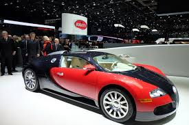 first and last bugatti veyron built share the stage in geneva