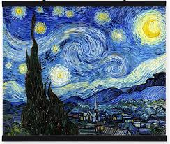 100 hand painted decorative oil painting reions on canvas starry night vincent van gogh impressionist