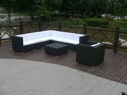 new design rattan patio furniture free assemble rattan sofa set