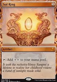 sol ring masterpiece series kaladesh inventions magic the