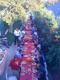 thanksgiving dinner los angeles the long table u0027 thanksgiving daily dish los angeles times