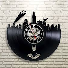excellent best wall clock for bedroom pictures inspiration large size batman gotham city logo best wall clock decorate