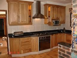 built in kitchen island built in cupboards fancy dark brown curved counter simple broken