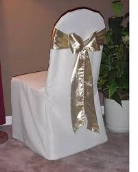 chair sashes for wedding 2018 ivory chiffon chair sashes wedding party deocrations bridal