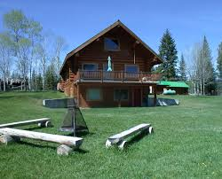 bc log home for sale on acreage with private lake