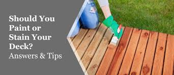 what is the best paint to paint your kitchen cabinets with painting vs staining your deck which option is best