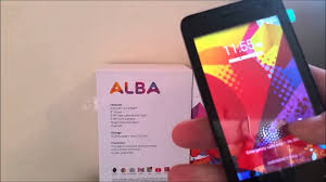alba 4 inch android mobile phone sim free youtube
