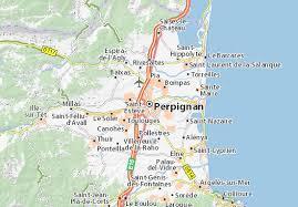 map of perpignan region perpignan map detailed maps for the city of perpignan viamichelin