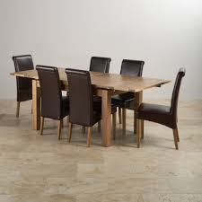 Extending Table And Chairs Dorset Oak 4ft 7