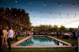 poolside engagement parties wedding style inspiration lane