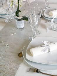 chemin de table mariage chemin de table argent mariage table mariage