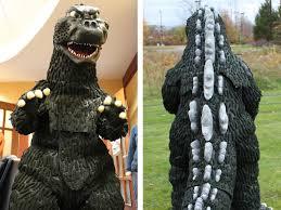 Godzilla Halloween Costumes Godzilla Completed Costume
