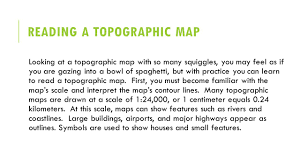 all grade worksheets topographic map reading worksheet answers