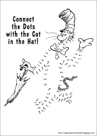 dr seuss coloring pages green eggs ham cat hat