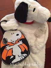 Snoopy Halloween Costume Kids Snoopy Costume Ebay