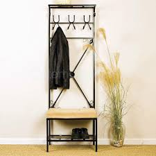 Entryway Coat Rack With Bench by Bag Coat Rack Stand Entryway Hall Tree Storage Bench Organizer