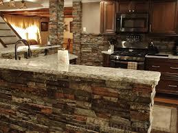 White And Blue Kitchen - kitchen backsplashes kitchens with stone backsplash fancy white