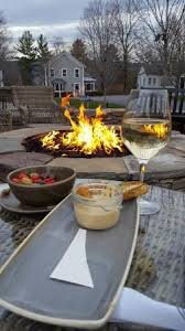 The Firepit Appetizers And Wine Around The Firepit Picture Of Kimpton