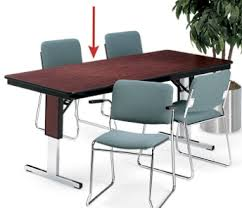 72 X 36 Conference Table Rectangular Adjustable Height Folding Conference Table 72 X 36
