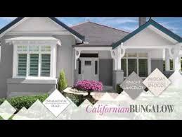 exterior colour inspiration california bungalow taubmans