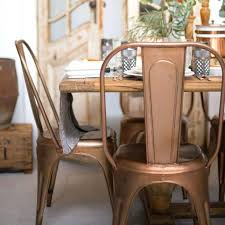 Black Metal Chairs Dining Creative Vintage Metal Dining Chair Starlize Me
