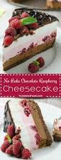 no bake chocolate raspberry cheesecake recipe from yummiest food