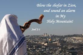 shofar blew the news today in the high holidays