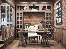 vintage office for a private residence denis krasikov www