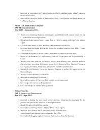 Sap End User Resume Sample Cover Letter When You Know Someone Bad Example Of A Resume Henry