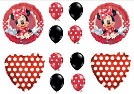 Amazon Mad About Minnie Mouse Birthday Party Balloons Toys
