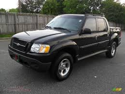 Ford Explorer All Black - 2005 ford explorer sport trac xlt in black clearcoat a38465