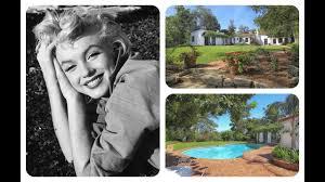 tour marilyn monroe u0027s house in brentwood california youtube