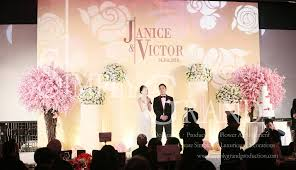 wedding backdrop pink elegance