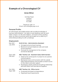 chronological format resume sample chronological resume template format vacation leave top cover letter example of chronological resume an example cvexamples of a chronological resume extra medium size
