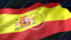 Spanish Flag Spanish Flag 3d Animation Cg4tv Com