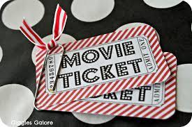 movie admit one ticket template