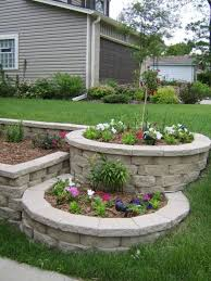 Backyard Garden Ideas Photos Best 25 Landscaping Blocks Ideas On Pinterest Cinder Block