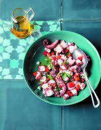 poivron cuisine salade de poulpe au poivron pour 4 personnes recettes à table