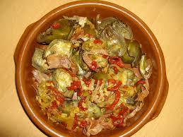 comment cuisiner l artichaut artichauts façon espagnole cuisine en pays basque